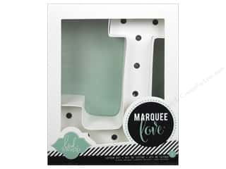 """Everything You Love Sale Scrapbooking: American Crafts Heidi Swapp Marquee Love Letter Kit 8 1/2 in. """"J"""""""