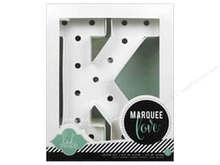 "Heidi Swapp Marquee Love Letter Kit 8 1/2 in. ""K"""
