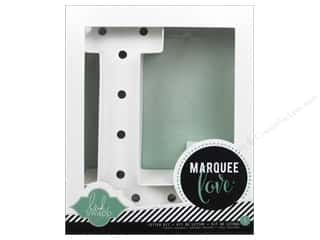 "Everything You Love Sale: American Crafts Heidi Swapp Marquee Love Letter Kit 8 1/2 in. ""L"""