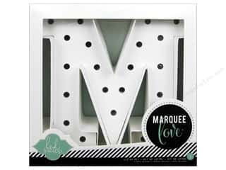 "Lamps: American Crafts Heidi Swapp Marquee Love Letter Kit 8 1/2 in. ""M"""