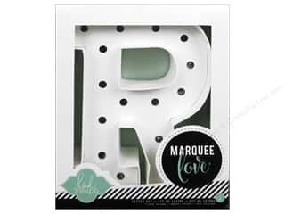 "Lamps: American Crafts Heidi Swapp Marquee Love Letter Kit 8 1/2 in. ""R"""