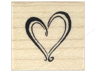 stamps: Inkadinkado Wood Stamp Heart