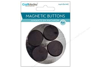 craft & hobbies: Craft Medley Round Magnets 7/8 in. 8 pc.