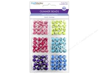 beading & jewelry making supplies: Multicraft Bead Glimmer Daisy Bling Variety Pack