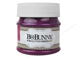 Bo Bunny Glitter Paste 1.69 oz. Pink Punch