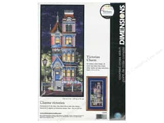 Weekly Specials Leisure Arts Loop-D-Doo Kits: Dimensions Counted Cross Stitch Kit 8 x 17 in. Victorian Charm