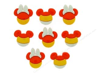 craft & hobbies: Jesse James Dress It Up Embellishments Disney Mickey & Minnie Candy Corn