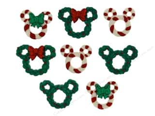scrapbooking & paper crafts: Jesse James Dress It Up Embellishments Disney Wreaths & Canes