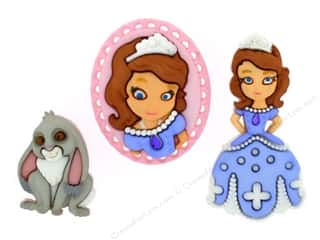 craft & hobbies: Jesse James Dress It Up Embellishments Disney Sofia The First
