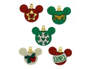 Jesse James Embellishments - Disney Mickey Ornaments