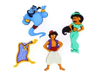 craft & hobbies: Jesse James Dress It Up Embellishments Disney Aladdin