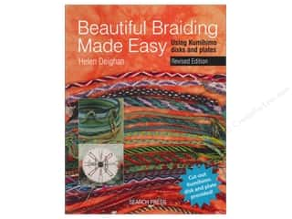 Clearance Off The Press Template: Search Press Beautiful Braiding Made Easy Book