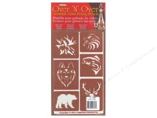 craft & hobbies: Armour Over 'N' Over Stencil Wild Things