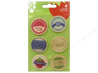 Imaginisce Heartland Farm Wood Bottle Caps