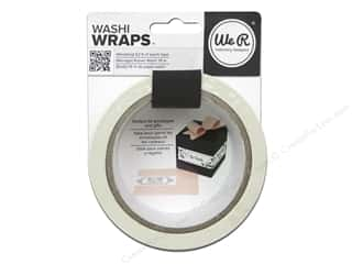 glues, adhesives & tapes: We R Memory Keepers Washi Wraps Wedding