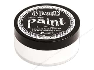 Ranger Dylusions Paint 2 oz. White Linen