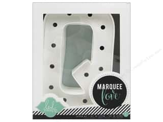 "craft & hobbies: Heidi Swapp Marquee Love Letter Kit 8 1/2 in. ""Q"""