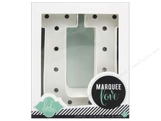 "craft & hobbies: Heidi Swapp Marquee Love Letter Kit 8 1/2 in. ""U"""