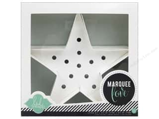 Lamps: American Crafts Heidi Swapp Marquee Love Star Kit 8 1/2 in.