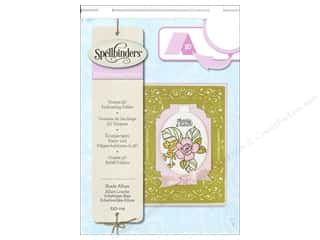 Weekly Specials Scrapbooking Organizers: Spellbinders Embossing Folder Large Shady Allure