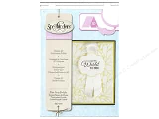 Weekly Specials Scrapbooking Organizers: Spellbinders Embossing Folder Large Dew Drop Delight