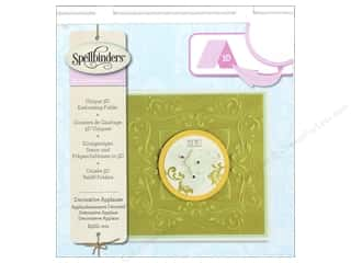 Weekly Specials Scrapbooking Organizers: Spellbinders Embossing Folder Large Deco Applause