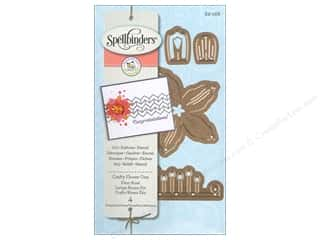 dies: Spellbinders D-Lites Die Crafty Flower One