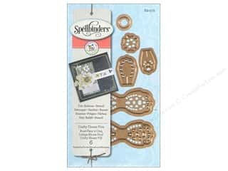 dies: Spellbinders D-Lites Die Crafty Flower Five