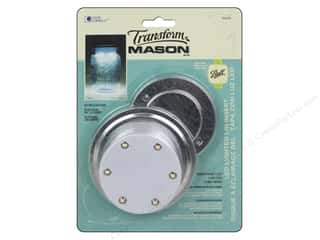 Loew Cornell Transform Mason LED Lighted Lid Insert