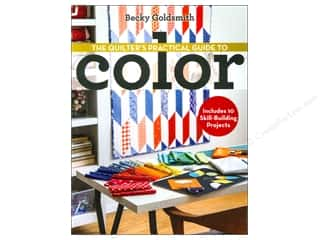 C&T Publishing Quilters Practical Guide to Color Book by Becky Goldsmith