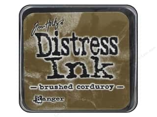stamps: Tim Holtz Distress Mini Ink Pad by Ranger Brushed Corduroy