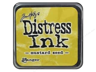 stamps: Tim Holtz Distress Mini Ink Pad by Ranger Mustard Seed