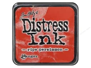 stamps: Tim Holtz Distress Mini Ink Pad by Ranger Ripe Persimmon