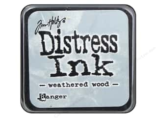 stamps: Tim Holtz Distress Mini Ink Pad by Ranger Weathered Wood