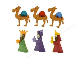 novelties: Jesse James Dress It Up Embellishments We Three Kings