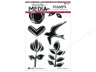 scrapbooking & paper crafts: Ranger Dina Wakley Media Stamp Woodcuts
