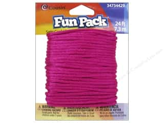 Weekly Specials Jewelry Making: Cousin Fun Pack Satin Cord Pink
