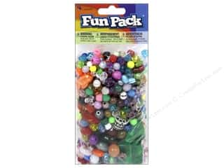 beading & jewelry making supplies: Cousin Fun Pack Bead Mix 6 oz.