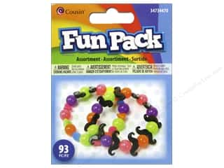 beading & jewelry making supplies: Cousin Fun Pack Kit Jewelry Assorted Neon