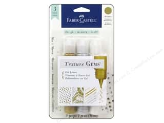 Painting Knife / Palette Knife: FaberCastell Texture Gems Gel Liner Metallics