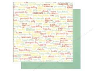 "Party Candles / Birthday Candles: We R Memory Keepers Cakes & Candles Paper 12""x 12"" Celebrate (12 sheets)"