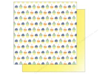 "Celebration Cardstock: We R Memory Keepers Cakes & Candles Paper 12""x 12"" Cupcakes (12 sheets)"