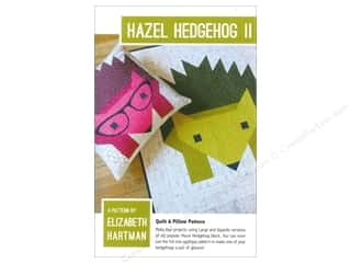 Books & Patterns: Elizabeth Hartman Hazel Hedgehog II Pattern