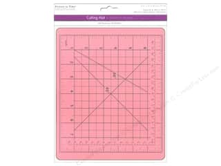 "scrapbooking & paper crafts: Multicraft Tools Cutting Mat 7.5""x 9"" Self Healing Pink"