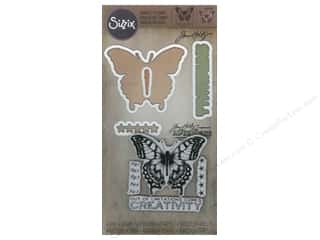 Sizzix Framelits Dies Stamp Limitations by Tim Holtz