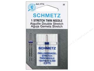 elastic: Schmetz Stretch Needle Twin Size 75/2.5 1 pc