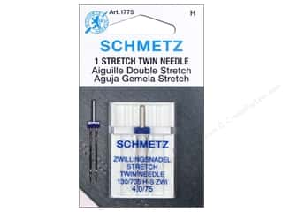 elastic: Schmetz Stretch Needle Twin Size 75/4.0 1 pc