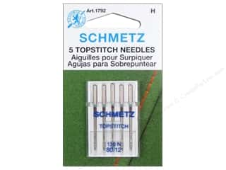 Schmetz Topstitch Needle Size 80/12 5 pc
