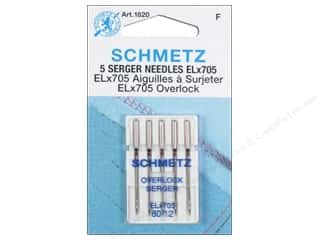 Schmetz Serger Needle ELx705 Size 80/12 5 pc