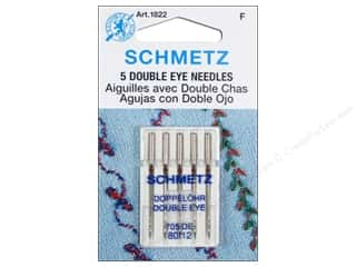 Schmetz Double Eye Needle Size 80/12 5 pc